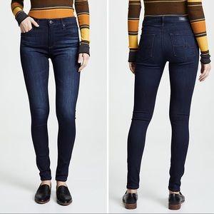 New AG The Farrah Skinny Ankle High Rise Jeans 27